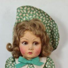 Muñecas Extranjeras: MUÑECA LENCI. LUCIA MODELO A. FIELTRO. HECHA A MANO. ITALIA, CIRCA 1950.. Lote 220356343
