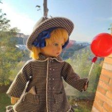 Muñecas Extranjeras: ANTIGUA MUÑECA FIELTRO RAYNAL, DE ORIGEN!! 1940, MIDE 43 CM.. Lote 127845023