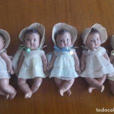 Muñecas Extranjeras: MUÑECAS QUINTILLIZAS DIONNE. AMERICA. AÑOS 30. ORIGINALES. MADAME ALEXANDER. Lote 222160618