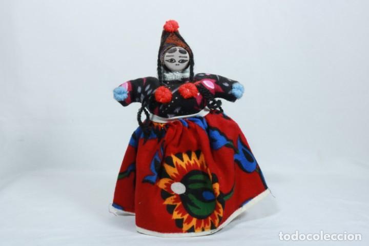 ANTIGUA MUÑECA DE TRAPO TRADICIONAL TURCA (Juguetes - Muñeca Internacional Antigua - Otras Muñecas)