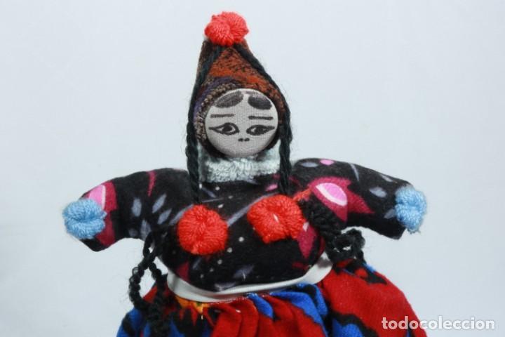 Muñecas Extranjeras: Antigua muñeca de trapo tradicional turca - Foto 2 - 224134316
