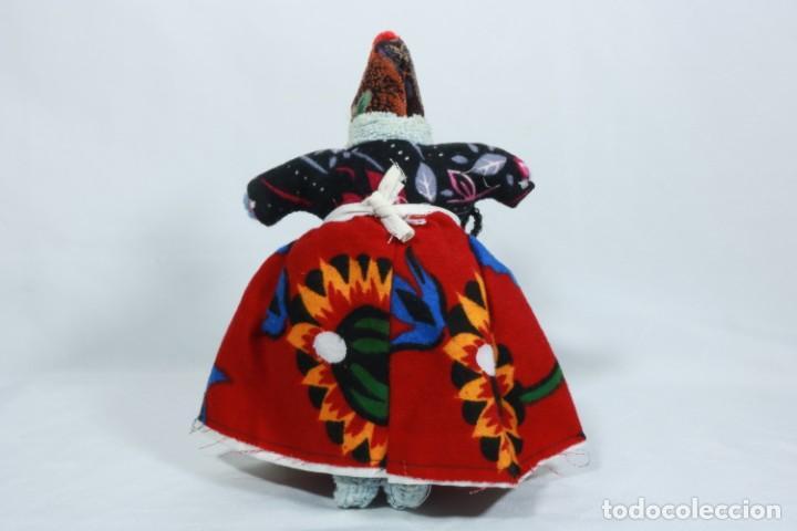 Muñecas Extranjeras: Antigua muñeca de trapo tradicional turca - Foto 4 - 224134316