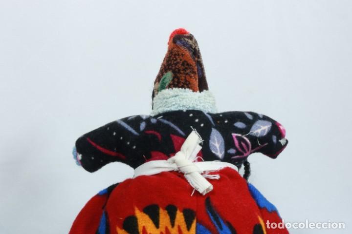Muñecas Extranjeras: Antigua muñeca de trapo tradicional turca - Foto 5 - 224134316