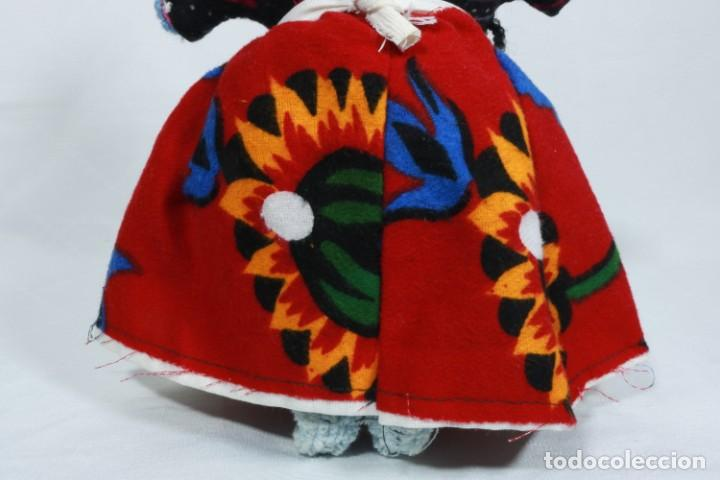 Muñecas Extranjeras: Antigua muñeca de trapo tradicional turca - Foto 6 - 224134316