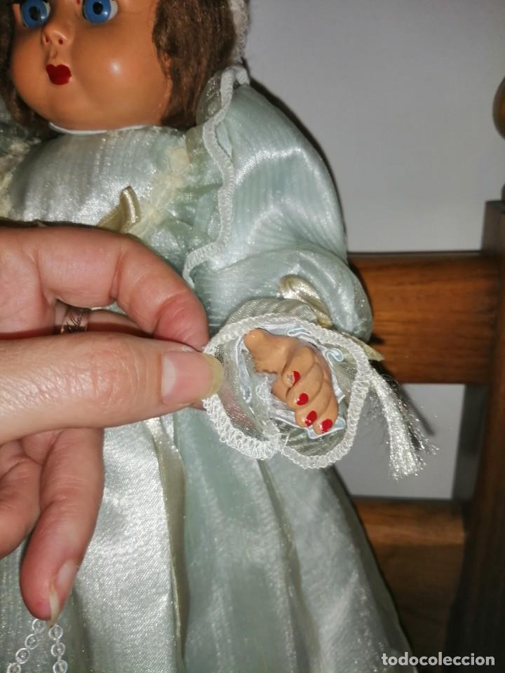 Muñecas Extranjeras: Muñeca cartón piedra y piel - Foto 5 - 224756991
