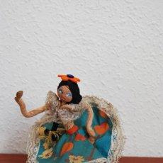 Muñecas Extranjeras: MUÑECA DE TELA, FIELTRO Y ALAMBRE - VENEZUELA - BAILARINA- AÑOS 50-60. Lote 225233795