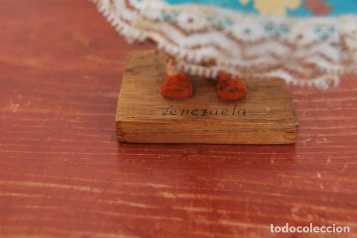 Muñecas Extranjeras: MUÑECA DE TELA, FIELTRO Y ALAMBRE - VENEZUELA - BAILARINA- AÑOS 50-60 - Foto 13 - 225233795