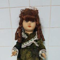 Muñecas Extranjeras: MUÑECA ANTIGUA, PIEL MELOCOTÓN. Lote 226143710