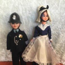 Bambole Internazionali: PAREJA MARINE POUPEE MUÑECA FRANCESA OJOS DURMIENTES. Lote 234848675