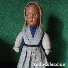Muñecas Extranjeras: ANTIGUA Y PRECIOSA MUÑECA HOLANDESA. Lote 241847365