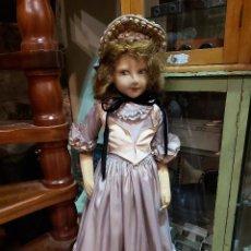 Muñecas Extranjeras: MUÑECA MANIQUI POSIBLEMENTE LENCI 58 CM ALTO. Lote 275267368