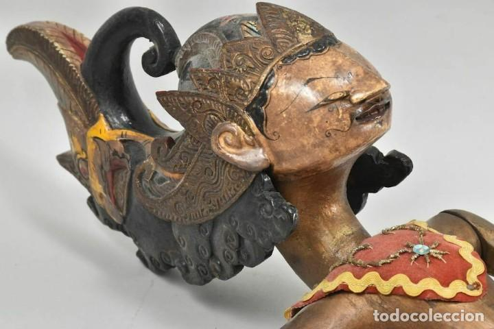 Muñecas Extranjeras: ANTIGUA S. XIX RARA Y MAGNIFICA MARIONETA BIRMANIA 85 cm altura - Foto 2 - 251098290