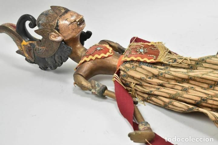 Muñecas Extranjeras: ANTIGUA S. XIX RARA Y MAGNIFICA MARIONETA BIRMANIA 85 cm altura - Foto 3 - 251098290