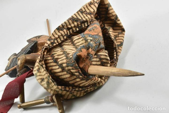 Muñecas Extranjeras: ANTIGUA S. XIX RARA Y MAGNIFICA MARIONETA BIRMANIA 85 cm altura - Foto 6 - 251098290