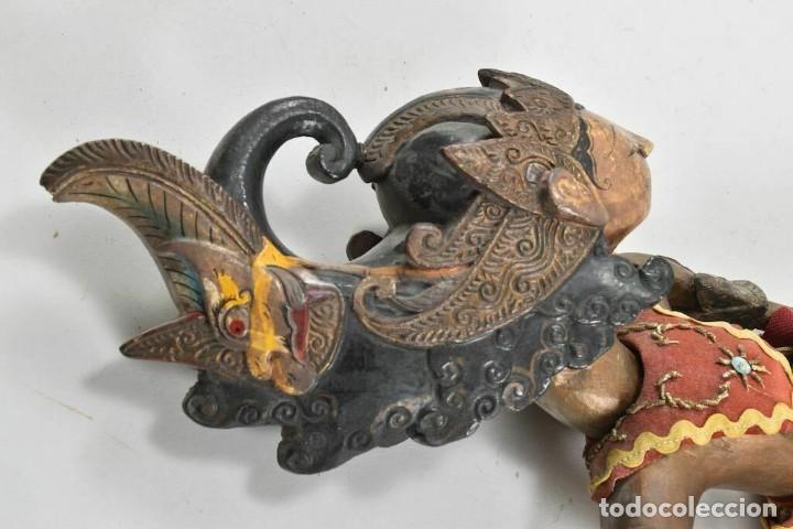 Muñecas Extranjeras: ANTIGUA S. XIX RARA Y MAGNIFICA MARIONETA BIRMANIA 85 cm altura - Foto 9 - 251098290