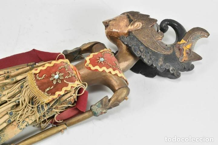 Muñecas Extranjeras: ANTIGUA S. XIX RARA Y MAGNIFICA MARIONETA BIRMANIA 85 cm altura - Foto 12 - 251098290