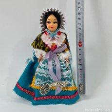 Muñecas Extranjeras: MUÑECA DE TRAPO TRAJE TÍPICO REGIONAL VINTAGE MILÁN ITALIA. Lote 254389465