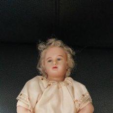 Bonecas Internacionais: MUÑECO O NIÑO JESÚS DE CERA SIGLO XIX. Lote 255484020