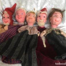 Bambole Internazionali: MARIONETAS ANTIGUAS LOTE FAMILIA. Lote 259220635