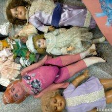 Bambole Internazionali: SUPER LOTE DE MUÑECAS ANTIGUAS Y RARAS. Lote 260112890