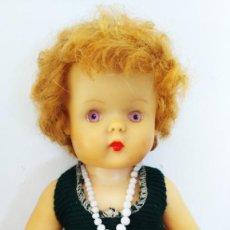Muñecas Extranjeras: ANTIGUA MUÑECA PELIRROJA MADE IN ENGLAND AÑOS 50. Lote 264967759