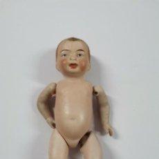 Bambole Internazionali: MUÑECO DE PORCELANA. PRINCIPIOS S.XX. 10,5 CM.. Lote 271125103