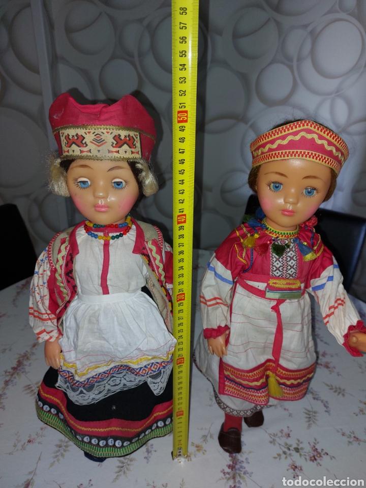 MUÑECAS RUSA ,DE LA URSS: FÁBRICA DE JUGUETES DE MOSCÚ URSS (Juguetes - Muñeca Internacional Antigua - Otras Muñecas)