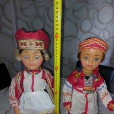 Muñecas Extranjeras: MUÑECAS DE LA URSS: FÁBRICA DE JUGUETES DE MOSCÚ URSS. Lote 278606028