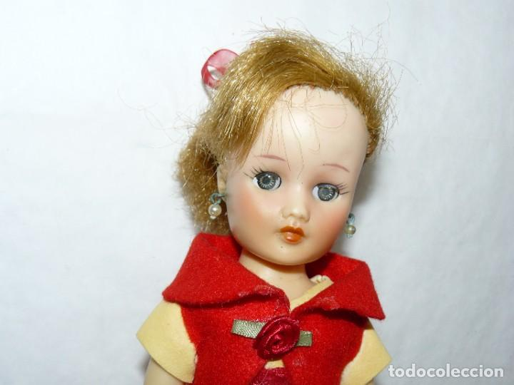 Muñecas Extranjeras: A- Muñeca original HORSMAN american doll años 50/60 con Conjunto Amarillo y Rojo made in USA - Foto 2 - 287685633