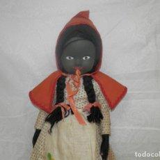 Muñecas Extranjeras: ANTIGUA MUÑECA DE FIELTRO Y TELA, 50 CM. Lote 287727868