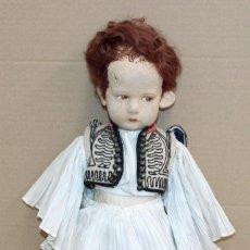 Muñecas Extranjeras: MUÑECA ORIGINAL DE LA CASA LENCI. AÑOS 30. LENCY. Lote 288656013