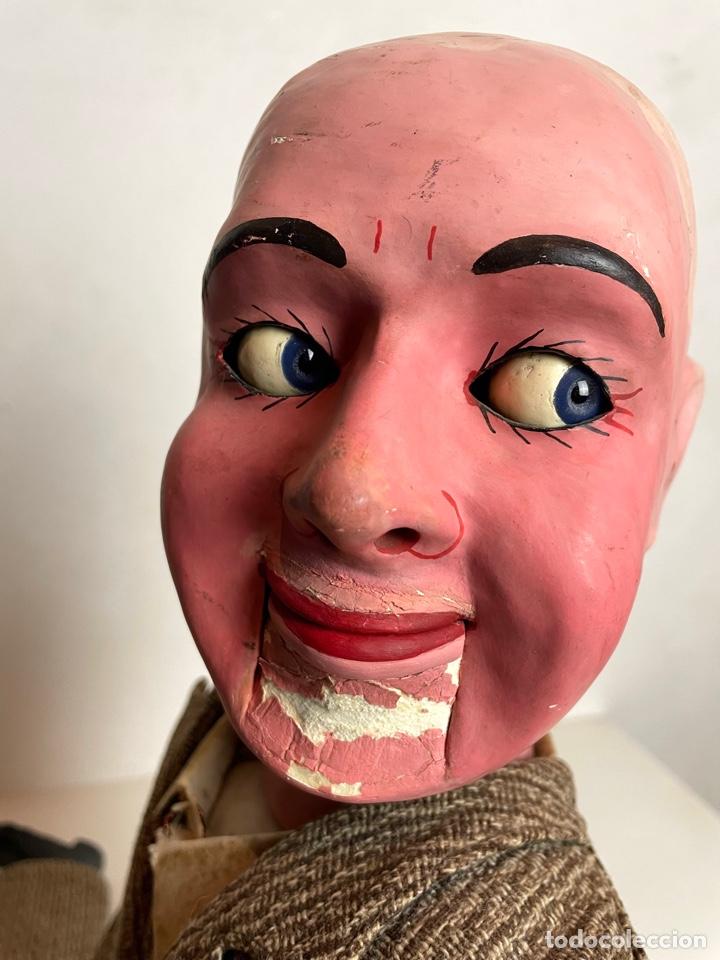 Muñecas Extranjeras: Muñeco ventrílocuo de principios del siglo XX - Foto 7 - 288898378