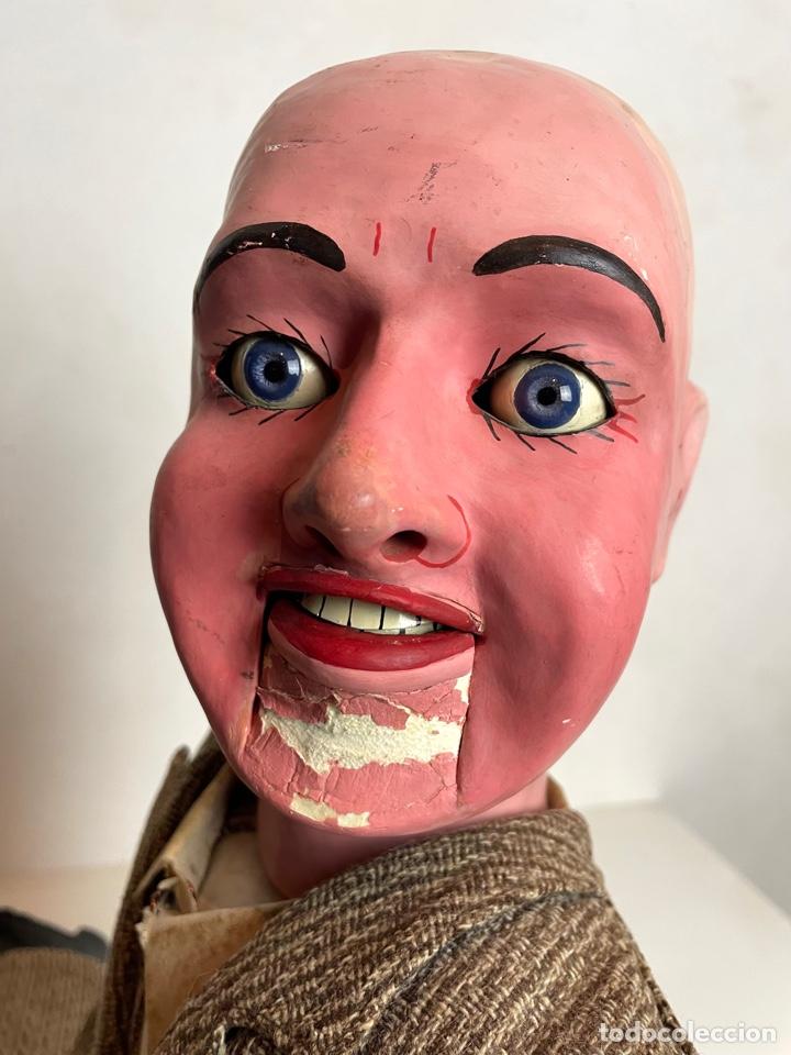 Muñecas Extranjeras: Muñeco ventrílocuo de principios del siglo XX - Foto 10 - 288898378