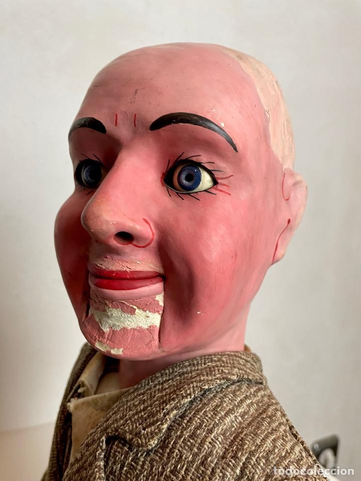 Muñecas Extranjeras: Muñeco ventrílocuo de principios del siglo XX - Foto 9 - 288898378