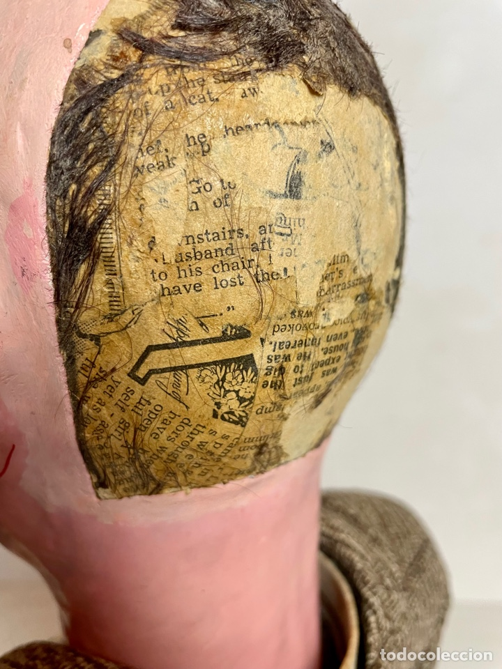 Muñecas Extranjeras: Muñeco ventrílocuo de principios del siglo XX - Foto 21 - 288898378