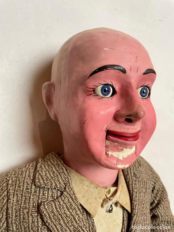 Muñecas Extranjeras: Muñeco ventrílocuo de principios del siglo XX - Foto 4 - 288898378