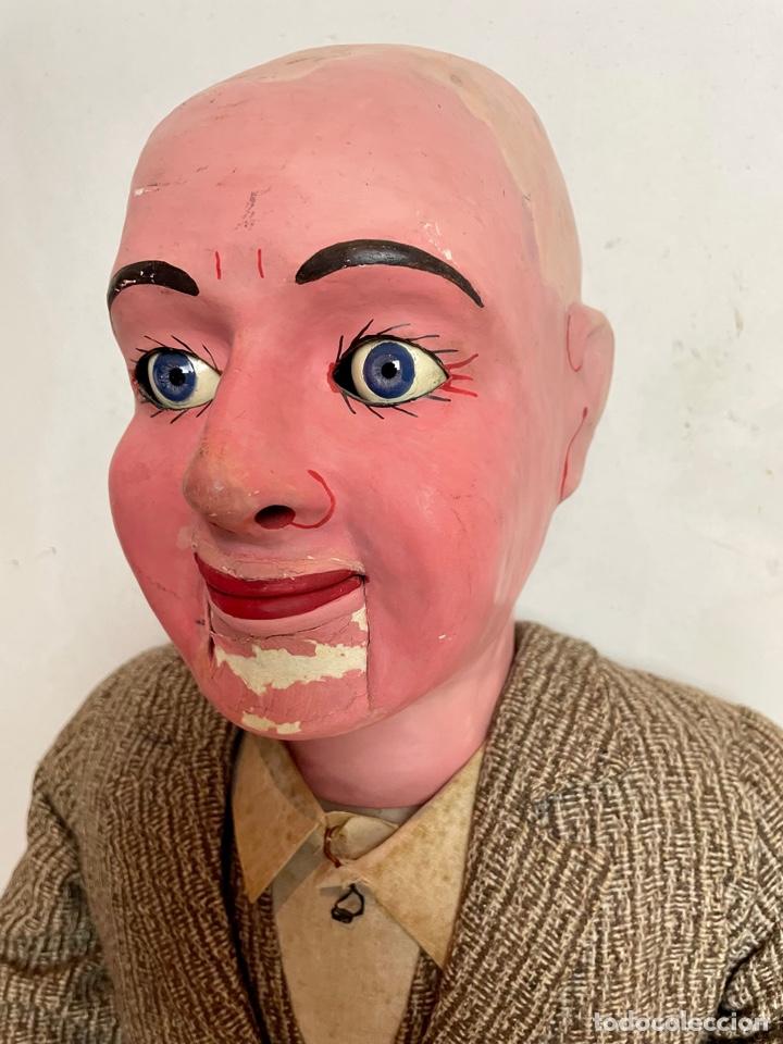 Muñecas Extranjeras: Muñeco ventrílocuo de principios del siglo XX - Foto 5 - 288898378