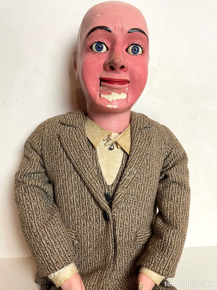 Muñecas Extranjeras: Muñeco ventrílocuo de principios del siglo XX - Foto 2 - 288898378