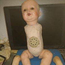 Bonecas Internacionais: ANTIGUO MUÑECO PARA RESTAURAR. Lote 292123238