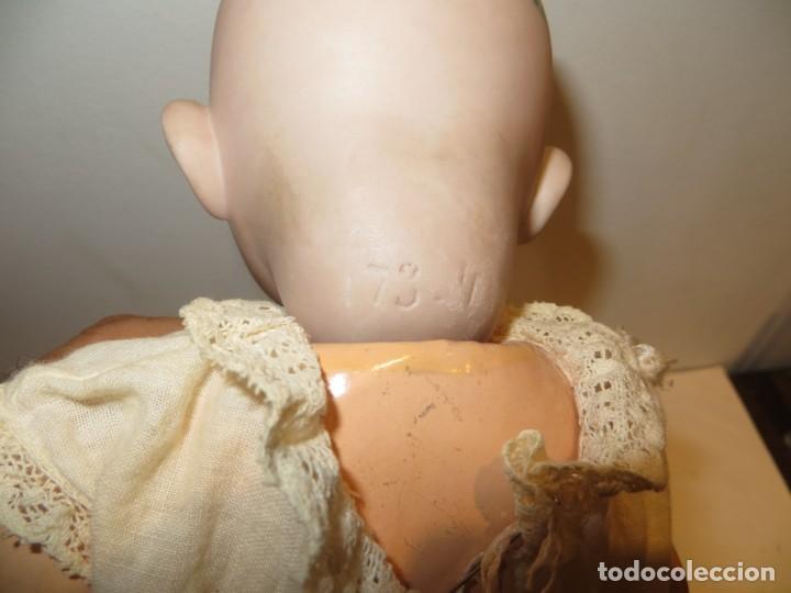 Muñecas Extranjeras: ANTIGUO BEBE DE CARA SIMPATICA Y CURIOSA DE PORCELANA Y COMPOSICION MUY BUEN ESTADO.SIMON - Foto 17 - 292371683