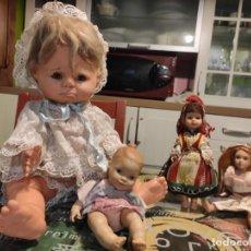 Muñecas Extranjeras: LOTE MUÑECOS ANTIGUOS. VER FOTOS!. Lote 297103118