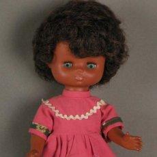 Muñecas Lesly y Barriguitas: PRECIOSA !!! LESLY AÑOS 70 NEGRA !! !!!. Lote 22804292