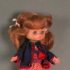 Muñecas Lesly y Barriguitas: PRECIOSA !!! LESLY PELIROJA AÑOS 70!! 9 Y 10 PECAS!!!. Lote 22804284