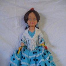 Muñecas Lesly y Barriguitas: MUÑECA MARY POPPINS FARALAES SEVILLANA DISNEY FAMOSA 1964 TODA DE ORIGEN DE FABRICA. Lote 49510647