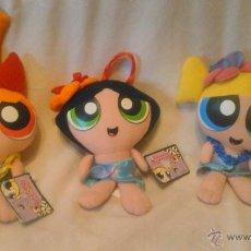 Muñecas Lesly y Barriguitas: LAS 3 NENAS MUÑECAS THE POWERPUFF GIRLS FAMOSA,24 CM ORIGINALES.. Lote 53263721