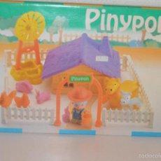 Muñecas Lesly y Barriguitas: CAJA VACIA PIN Y PON PINYPON. Lote 58257129