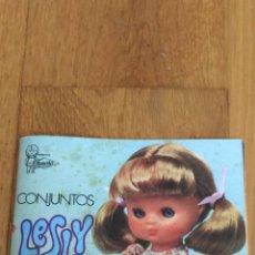 Muñecas Lesly y Barriguitas: CATALOGO ANTIGUO DE MUÑECA LESLY DE FAMOSA. Lote 72411231