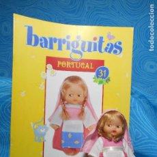 Muñecas Lesly y Barriguitas: BARRIGUITAS PORTUGAL MUÑECA Y FASCICULO (REF 3). Lote 74549111