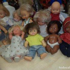 Muñecas Lesly y Barriguitas: LOTE 11 BARRIGUITAS ANTIGUOS ORIGINALES DE FAMOSA.. Lote 84171936