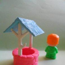 Muñecas Lesly y Barriguitas: PIN Y PON POZO AÑOS 80 ÚNICO MUY DIFÍCIL DE CONSEGUIR. Lote 87408696